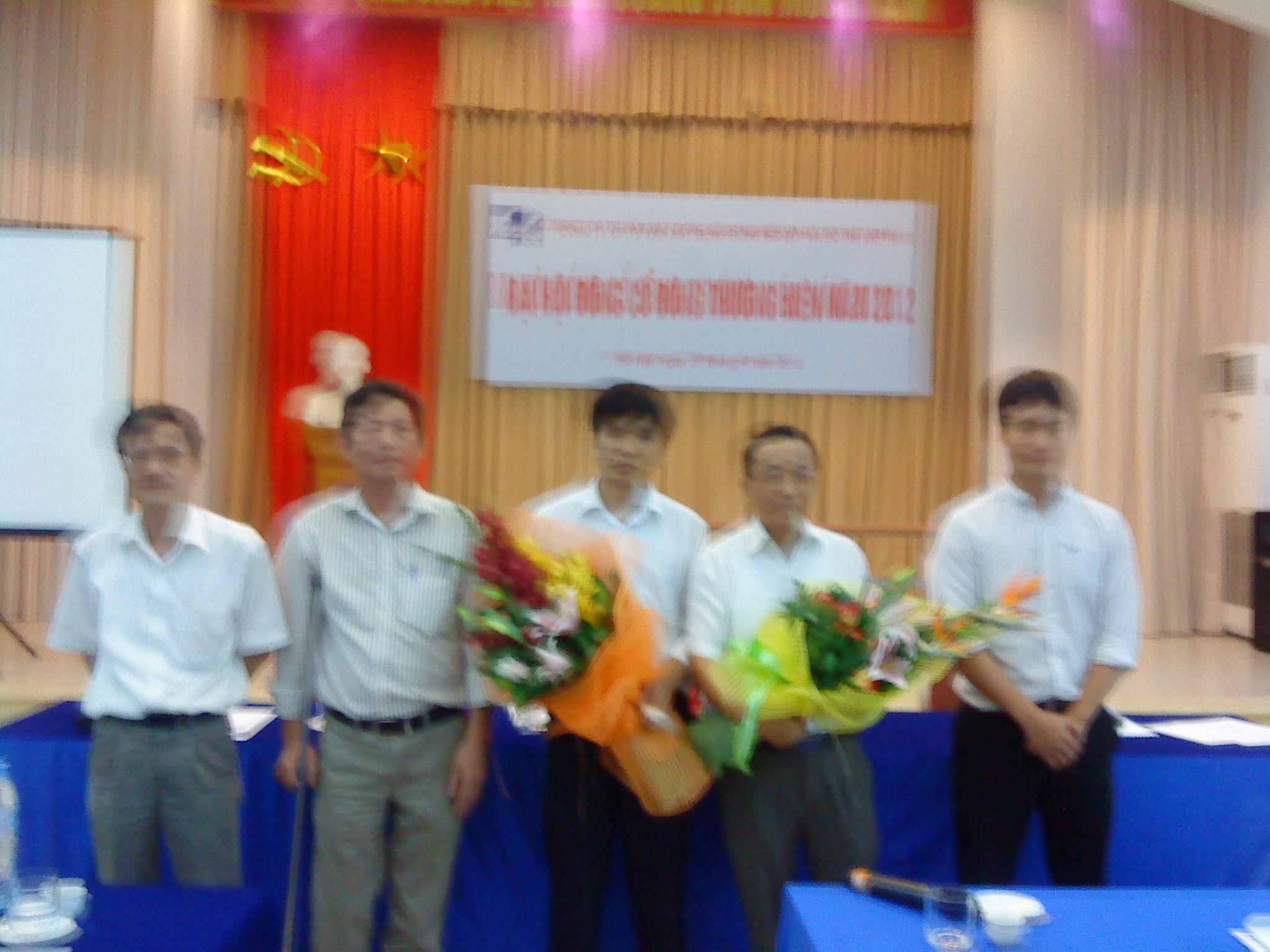 Ngày 27/4/2012 Công ty CP tư vấn Xây dựng Công nghiệp và Đô thị Việt Nam đã tổ chức Đại hội đồng cổ đông thường niên Công ty năm 2012.