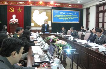 Hội nghị Báo cáo đồ án quy hoạch chung xây dựng khu công nghiệp và đô thị giao lưu quốc tế APEC
